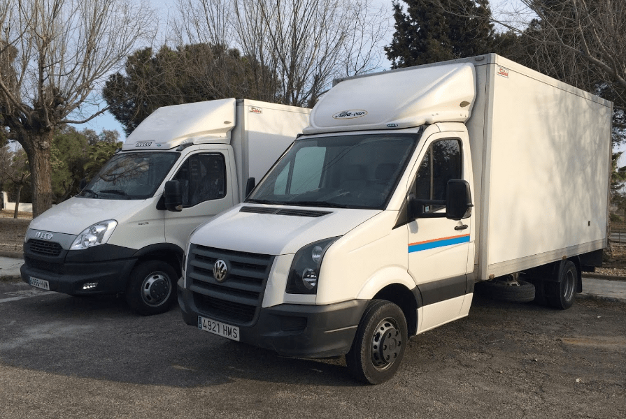 Iveco Daily- Volkswagen Crafter.