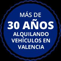 Más de 30 años alquilando Valencia
