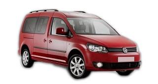 VW Caddy alquiler furgonetas Valencia