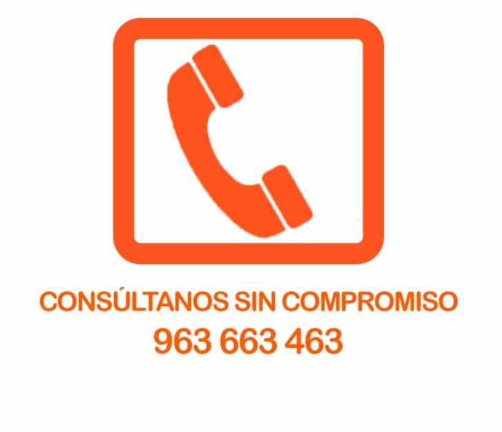 Telefono alquiler vehículos Valencia