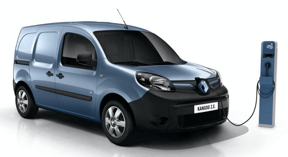 Renault Kangoo eléctrica