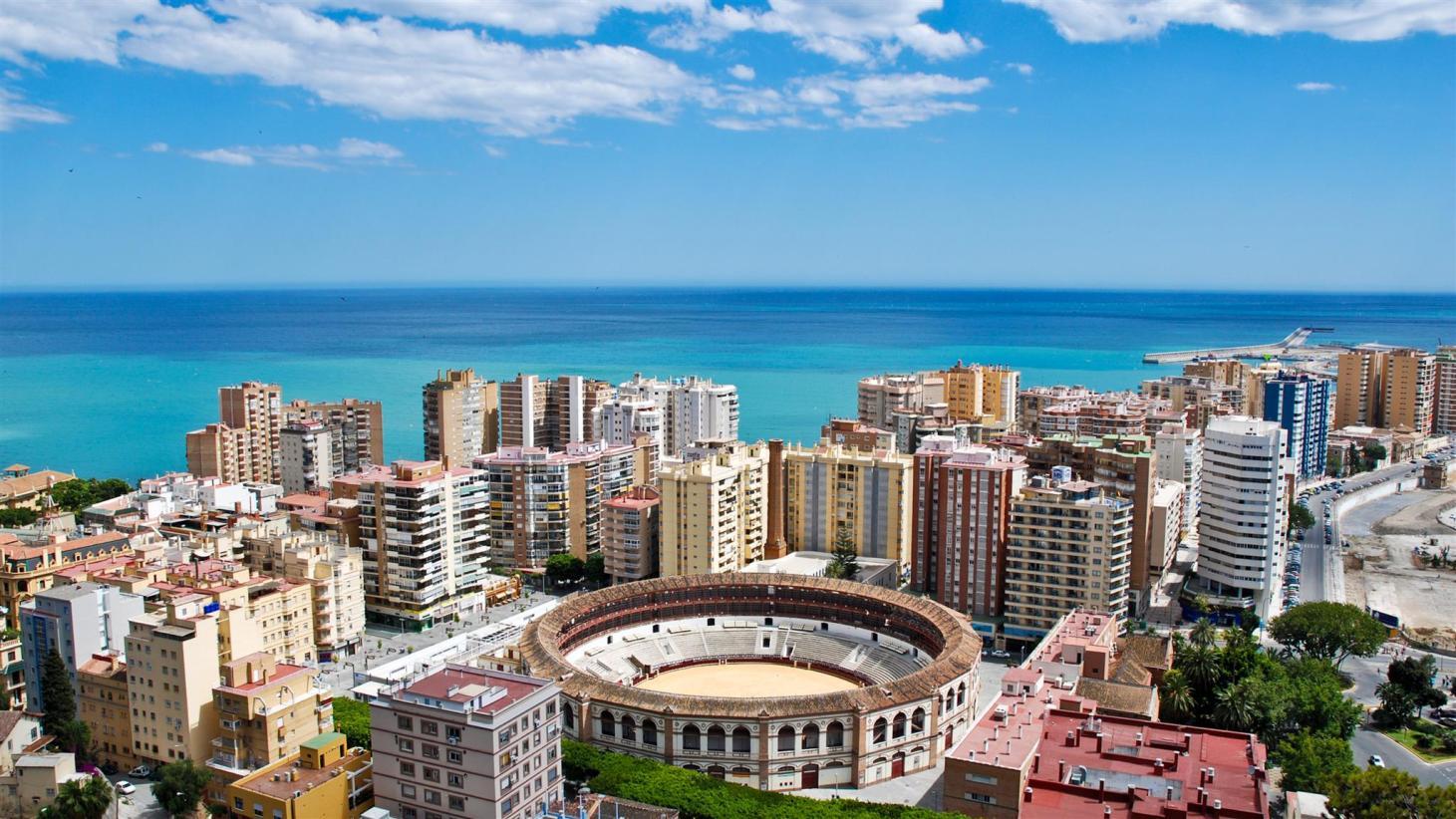 Vistas de Málaga